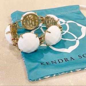 Kendra Scott Cassie Bracelet White